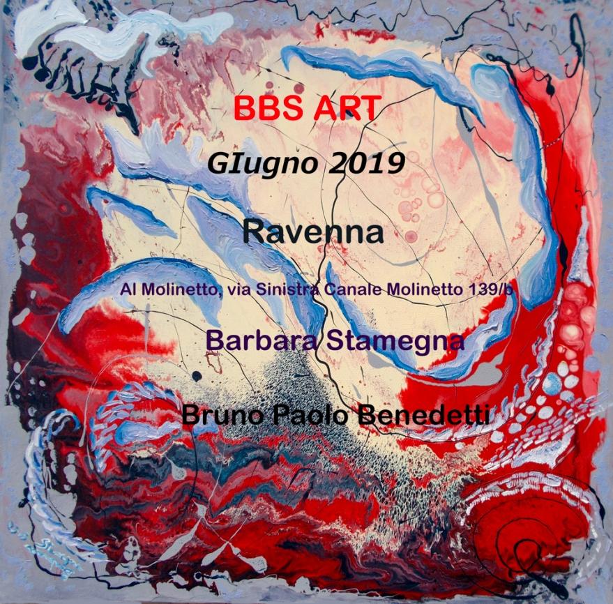 esposizione dipinti di Barbara Stamegna e arte digitale da foto di Bruno Paolo Benedetti a Ravenna,evento del mese di giugno 2019